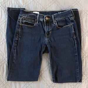 Gap Legging Jeans Size 26 2 Dark Wash EUC